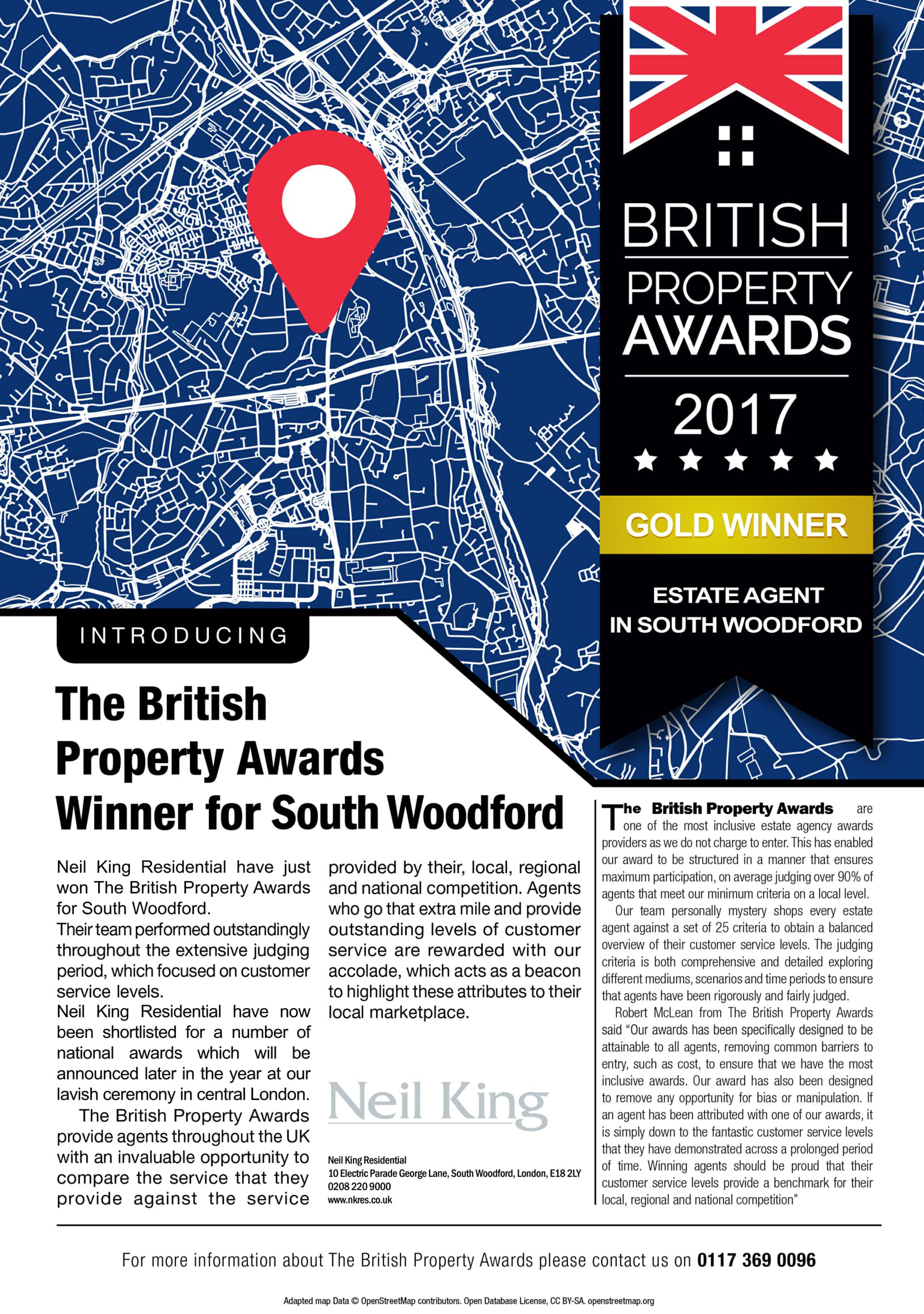 INTRODUCING THE BRITISH PROPERTY AWARDS WINNER FOR SOUTH WOODFORD